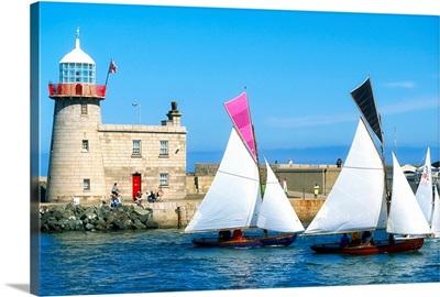 Howth 17 Yachts, Howth Harbour, Co Dublin, Ireland