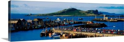 Howth Harbour And Irelands Eye, Co Dublin, Ireland