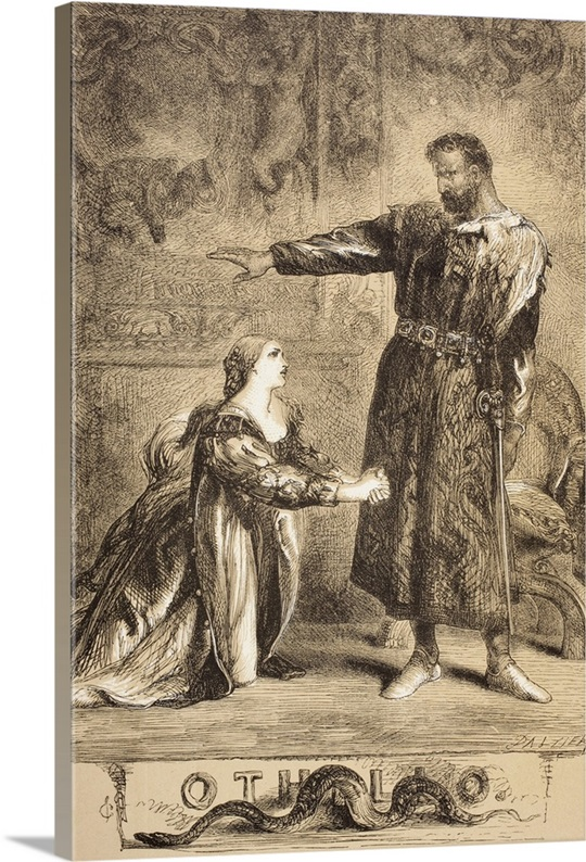 the monster from within othello by william shakespeare He is the main contrivance used to rouse the green-eyed monster within othello  in othello, by william shakespeare, the characters iago, cassio,.