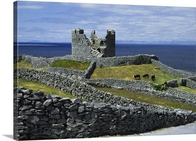 Inisheer, Aran Islands, County Galway, Ireland, O'brien Castle