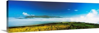 Inishowen, Co Donegal, Ireland, Mist Over Scalp Mountain
