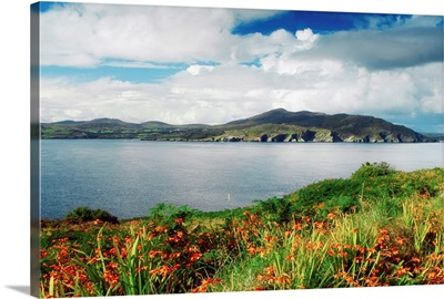 Inishowen Peninsula, Co Donegal, Ireland, View From The Shore To The Fanad Peninsula