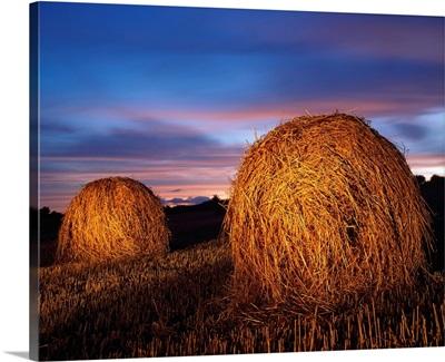 Ireland; Hay Bales