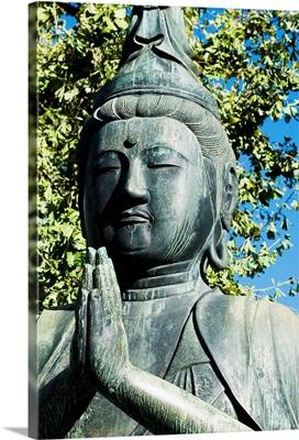 Japan, Tokyo, Asakusa, Senso-Ji Temple, Buddha Statue