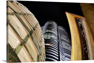 Japan, Tokyo, Roppongi Hills Mori Tower At Night