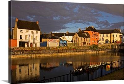 John's Quay and River Nore, Kilkenny City, County Kilkenny, Ireland