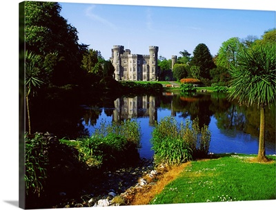 Johnstown Castle, Co Wexford, Ireland; 19Th Century Castle