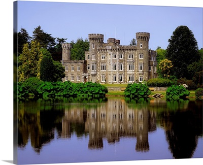 Johnstown Castle, County Wexford, Ireland, 19Th Century Gothic Revival