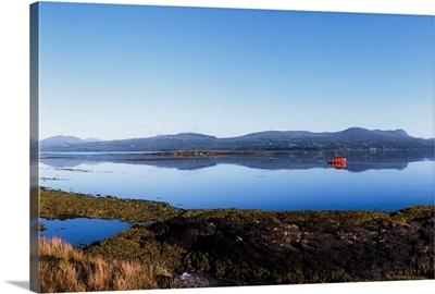 Kenmare Bay, Dunkerron Islands, Co Kerry, Ireland; Shoreline On A Bay