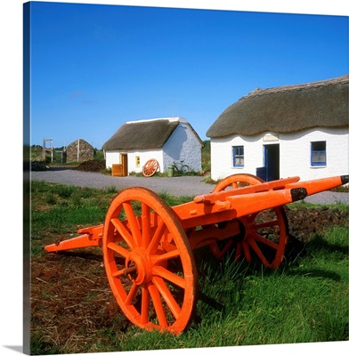 Kerry Bog Village Museum, Glenbeigh, Co Cork, Ireland; Traditional Cottage
