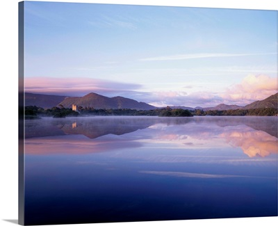 Killarney, Co Kerry, Ireland, Ross Castle And Muckross Lake