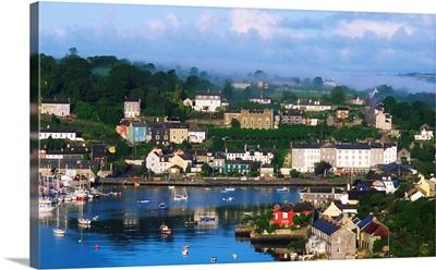Kinsale, Co Cork, Ireland, View Of Boats In Harbor