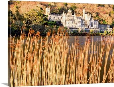 Kylemore Abbey, County Galway, Connemara, Ireland; 19Th Century Benedictine Abbey