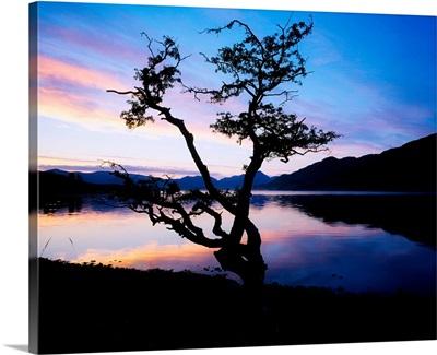 Kylemore Lake, Connemara, Co Galway, Ireland