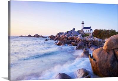 Lighthouse, Brignogan-Plage, Finistere, Brittany, France