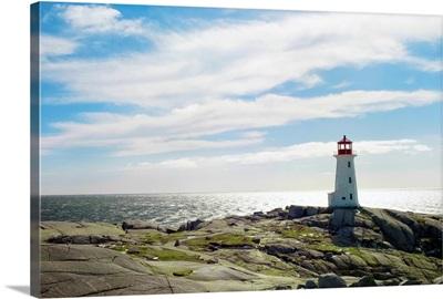 Lighthouse, Peggy's Cove, Nova Scotia, Canada