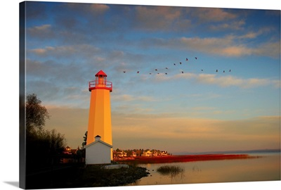 Lighthouse, Sylvan Lake, Alberta, Canada
