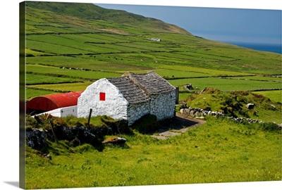 Lone Farmhouse On Mizen Head In West Cork; County Cork, Ireland