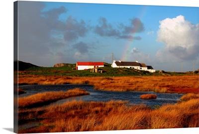 Malin Head, County Donegal, Ireland; Farmland