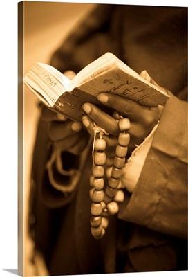 Man Holding Prayer Book, Ethiopia