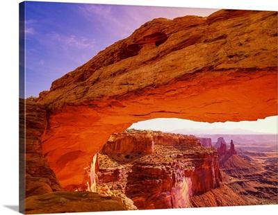 Mesa Arch At Sunrise Canyonlands National Park Utah
