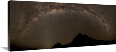 Milky way slashes across the night sky in Richtersveld National Park, South Africa