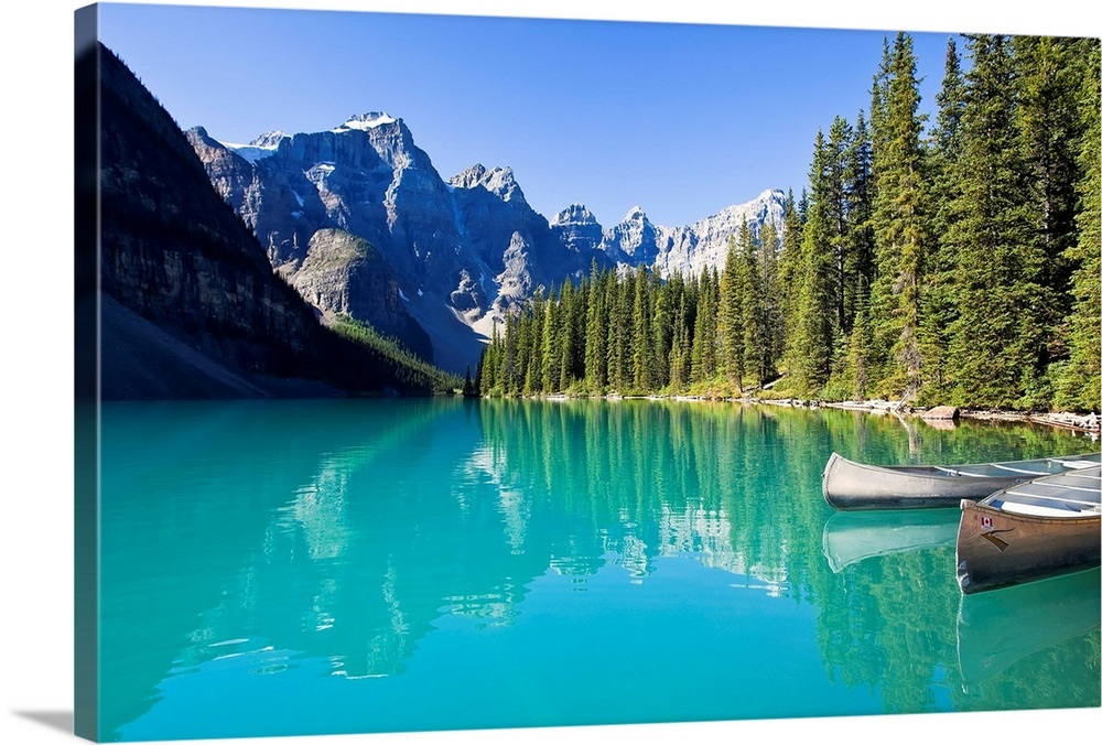 Canada, Banff National Park, Valley of the Ten Peaks