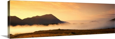 Morning Mist, Connemara, County Galway, Ireland