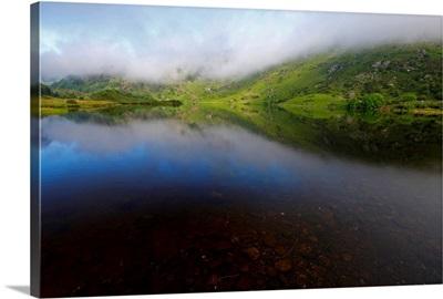 Morning Mist Over Gougane Barra Lake In West Cork; County Cork, Ireland