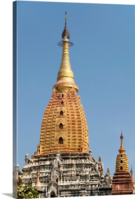 Myanmar, Bagan, Ananda Pahto, One Of The First Great Temples