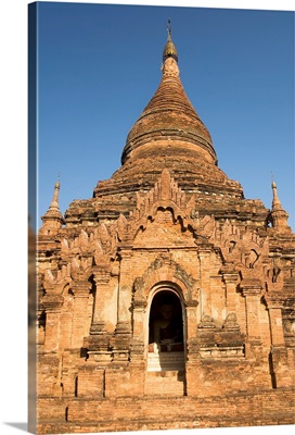 Myanmar, Bagan, Sinmyarshin Pahto, Entrance