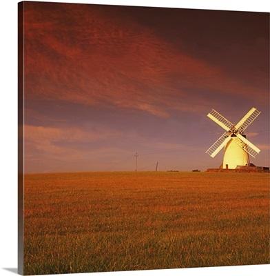 Near Newtownards, Co Down, Ireland; Windmill At Millisle