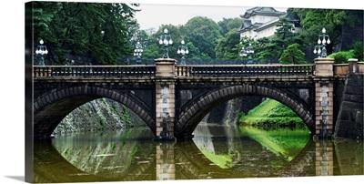 Nijubashi Bridge At Imperial Palace; Tokyo, Japan
