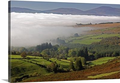 Nire Valley Landscape; Clonmel, County Tipperary, Ireland
