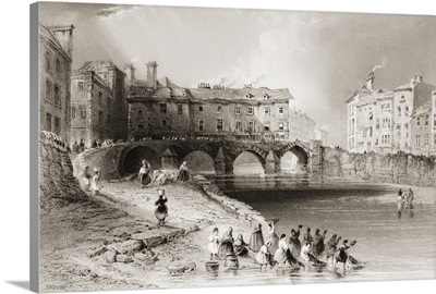 Old Boats Bridge, Limerick, Ireland
