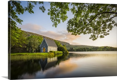 Old Chapel Of Gougane Barra, Sunrise, Gougane Barra, County Cork, Ireland
