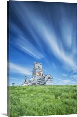 Old Grain Elevator, Horizon, Saskatchewan, Canada