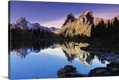 Opabin Lakes In Yoho National Park, Golden, British Columbia, Canada