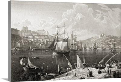 Oporto, From The Quay Of Villa Nova