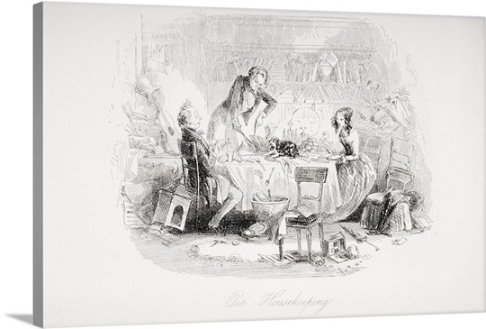 our housekeeping illustration from the charles dickens novel david illustration from the charles dickens novel david copperfield