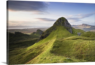 Overview Of Mountains, Isle Of Skye, Scotland