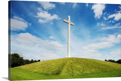 Papal Cross In Phoenix Park; Dublin, Ireland