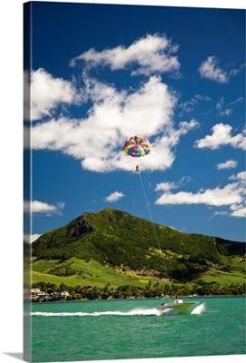 Parasailing, Mauritius