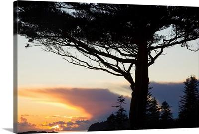 Parknasilla, County Kerry, Ireland, A Sunset Over Kenmare Bay