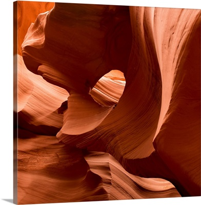 Patterns In The Smooth Sandstone; Arizona, USA