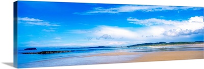 Pollan Strand, Inishowen, County Donegal, Ireland, Beach And Seascape