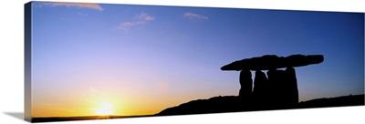 Poulnabrone Dolmen, The Burren, Co Clare, Ireland