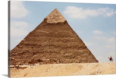 Pyramid Of Khafre (Chephren), Giza, Al Jizah, Egypt