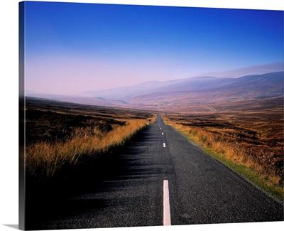 Regional Road In County Wicklow, Republic Of Ireland