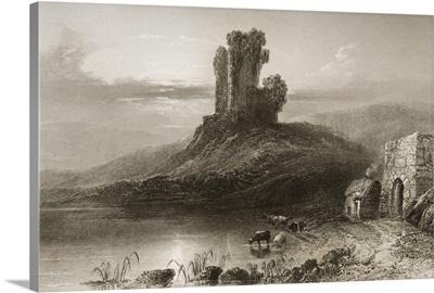 Remains Of Kilcolman Castle, County Cork, Ireland